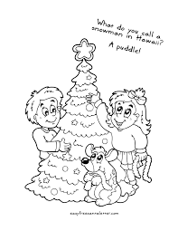 free printable christmas coloring pages jokes coloring