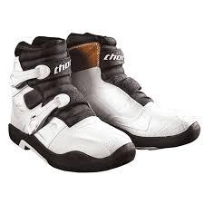 white motocross boots thor blitz ls boots mx alliance