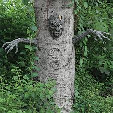 scary tree man outdoor halloween decoration party haunted house