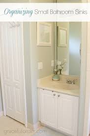 organizing bathroom ideas organizing small bathroom sinks graceful order