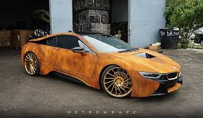 Bmw I8 360 View - rust wrapped bmw i8 looks like the real deal automobile magazine
