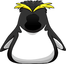 rockhopper penguin clipart black and white pencil and in color
