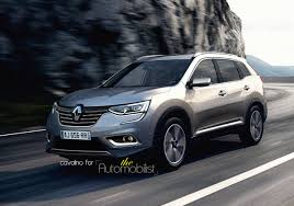 renault koleos 2016 interior renault koleos successor rendered launch in early 2016