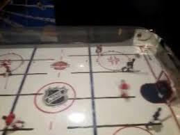 Halex Hockey Table Halex Nhl Elite Rod Hockey Youtube