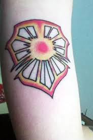 bright shield rune tattoo by serah53000 on deviantart