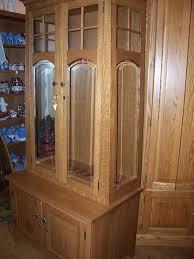 Wood Gun Cabinet Amish Custom Gun Cabinet Idea Gallery Amish Custom Gun Cabinets