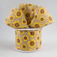 sunflower ribbon 2 5 sunflower ribbon 10 yards x713240 15