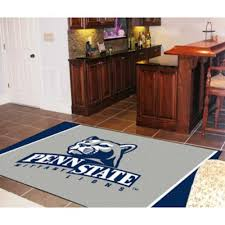 4 X 8 Area Rugs Amazon Com Sports Rug Penn State 4 Ft X 6 Ft Kitchen U0026 Dining