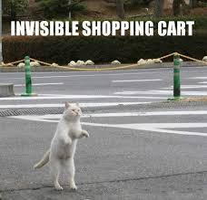 Invisible Cat Memes - invisible shopping cart cat meme cat planet cat planet