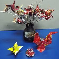 3d Origami Flower Vase Instructions Origami Art