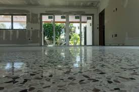 flooring terrazzo floor and glass windows plus terrazzo cleaning