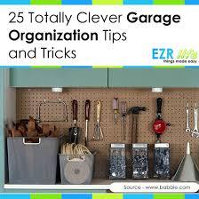Garage Organization Categories - garage