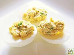 deviled egg dish easy blue cheese deviled eggs this cooks on a diet