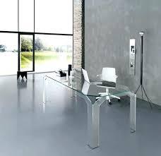 Home Office Desks Australia Office Desk Glass Glass Office Desk By Design Modern Home Office
