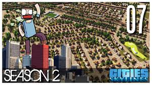 cities skylines s2 ep 07 small commercial zone u0026 epic suburbs