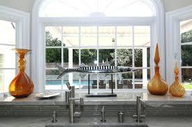Ideas For Kitchen Windows Kitchen Sink Bay Window Treatments Windows Beautiful