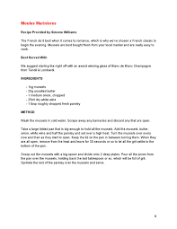 Resume Sample Last Page by The Idle Man Presents Men Make Dinner Day Recipe Book By The Idle