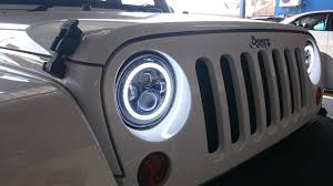 halo jeep wrangler lighting led rock rage off road accessories