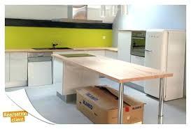 faire plan de travail cuisine faire une table avec un plan de travail table cuisine plan de