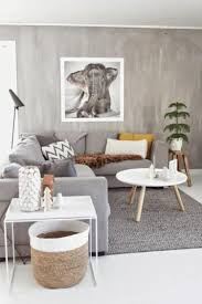 Elephant Decor For Living Room by Grey Living Room Design Small Space With Elephant Drawing Pict