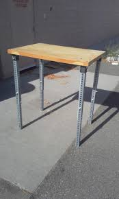 4 foot adjustable height table unbelievable adjustable height table legs by eclecticneophyte had an