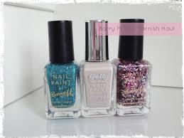 barry m nail paint haul beauty best friend uk beauty blog