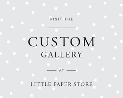 Home Design Stores Dunedin Wedding Invitations Little Paper Store