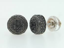 men s earrings black diamond earrings mens the special black diamond earrings