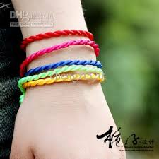 bracelet hand images Bracelets hand knotted rope hand catenary sports nylon cord jpg