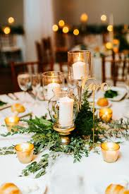 Lanterns For Wedding Centerpieces by 25 Best Gold Centerpieces Ideas On Pinterest Glitter
