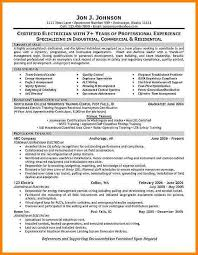 Electrician Resume Sample by 9 Electrician Resumes Samples Cashier Resumes 94 Template