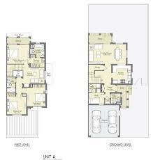 Casa Bella Floor Plan Bella Casa At Serena Dubai Properties Aqua Properties Dubai