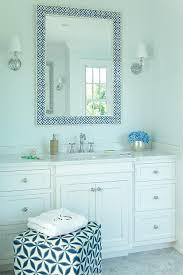 Blue Bathroom Vanity by Blue Bone Inlay Bath Vanity Mirror Transitional Bathroom