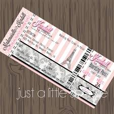 Boarding Pass Wedding Invitation Card Paris Boarding Pass Invitation Diy Boarding Pass Invite