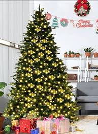10 ft pre lit artificial trees artificial trees ideas