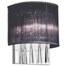 Black Interior Wall Lights Black Sconces Bathroom Lighting The Home Depot