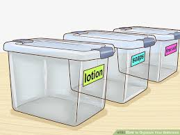 How To Organize Your Bathroom  Steps With Pictures WikiHow - Bathroom step