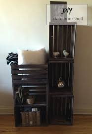 Pinterest Bookshelf by Best 25 Crate Bookshelf Ideas On Pinterest Book Shelf Bedroom