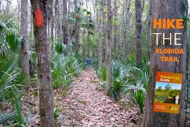 Florida Trail Map by Hiking Florida Florida Hikes