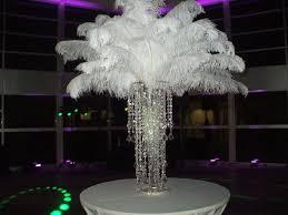 table centerpiece rentals 140 best centres de plumes images on marriage ostrich