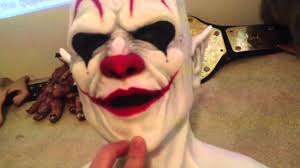 video review of my cfx imp clown silicone mask youtube