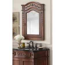 framed kitchen cabinets bathroom cabinets pretty bella carving brown vintage mirrored