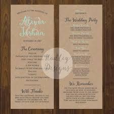 wedding ceremony program sle best 25 wedding program exles ideas on wedding