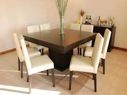 8 Seater Dining Tables And Chairs Modern Minimalist Square Wood Trends With Attractive 8 Seater