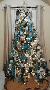 silver and blue tree blue