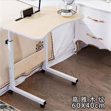 adjustable movable laptop table 60 40cm height adjustable lazy bedside table fashion movable