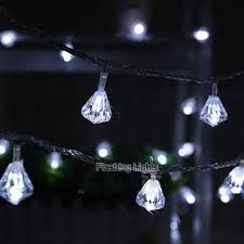 luminaria 8m 50 led shaped string lights outdoor