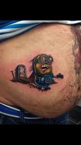 batman minion tattoo now this is one minion tattoo we can forgive tattoos pinterest