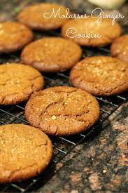 ginger molasses ginger cookies eggless real the kitchen and beyond