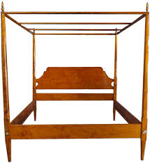 tate taylor s tiger maple pencil post bed the help handmade to explore canopy beds 3 4 beds and more